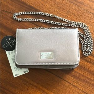 Brand New Nanette Lepore Pewter Evening Bag